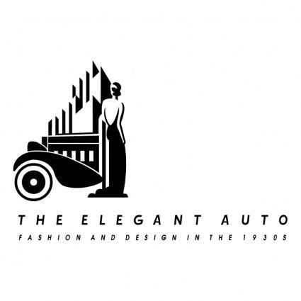free vector The elegant auto