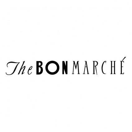 free vector The bon marche