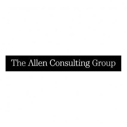 free vector The allen consulting group