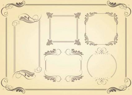 free vector Simple frame vector