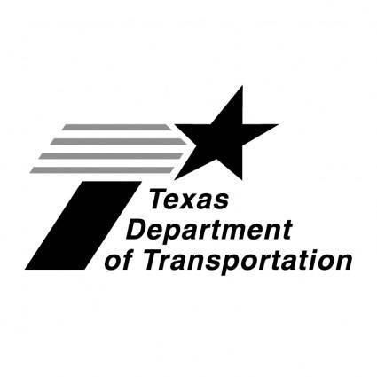 free vector Texas department of transportation