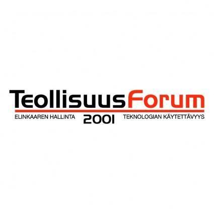 Teollisuus forum