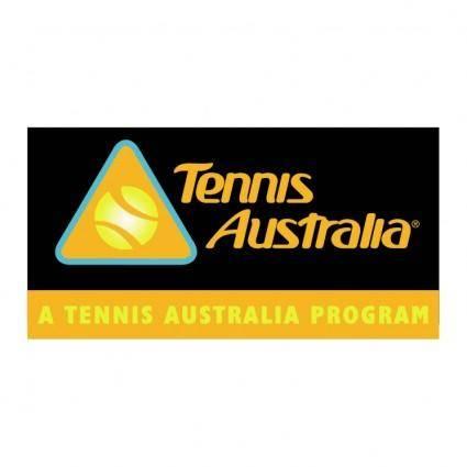 free vector Tennis australia