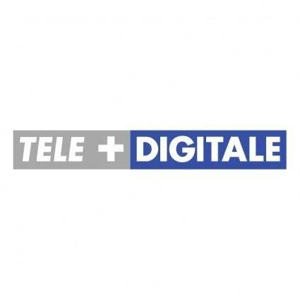 free vector Tele digitale