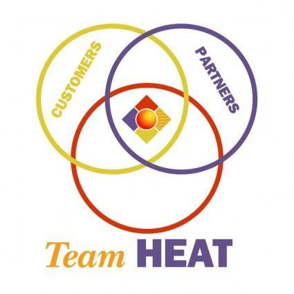 free vector Team heat