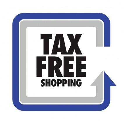 free vector Tax free shopping