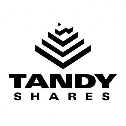 Tandy shares