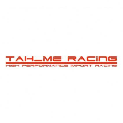 free vector Tahme racing