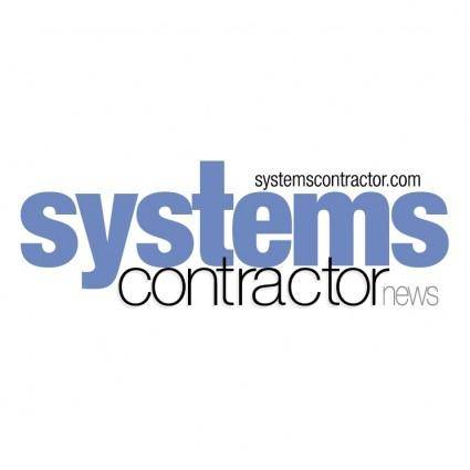 free vector Systems contractor news