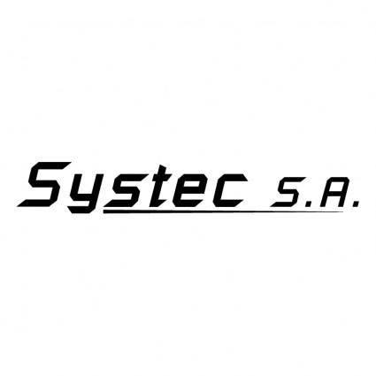 free vector Systec sa