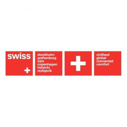 free vector Swiss air lines 7