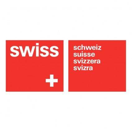 free vector Swiss air lines 6