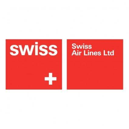 free vector Swiss air lines 5