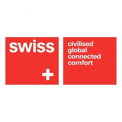 free vector Swiss air lines 0