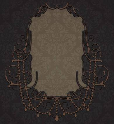 free vector Nostalgia shading lace 01 vector