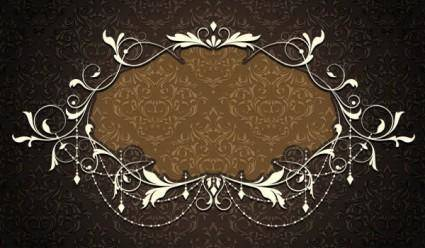 free vector Nostalgia shading lace 02 vector
