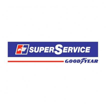 free vector Super service