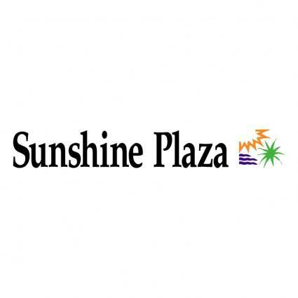 free vector Sunshine plaza