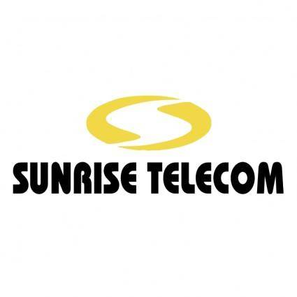 free vector Sunrise telecom