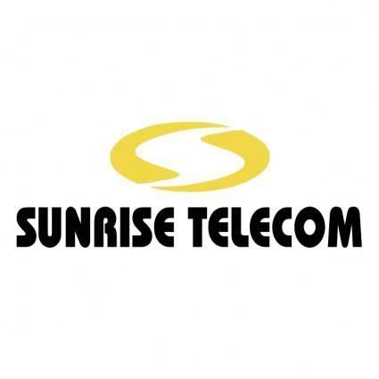 free vector Sunrise telecom