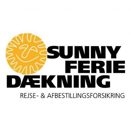 free vector Sunny ferie daekning