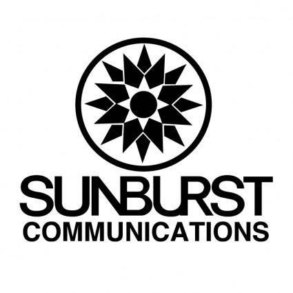 free vector Sunburst communications