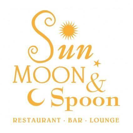 free vector Sun moon spoon