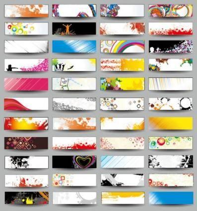 Trend card design 04 vector