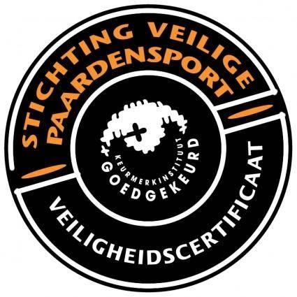 free vector Stichting veilige paardensport