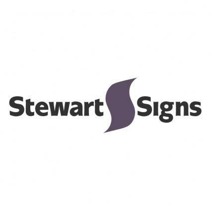 Stewart signs