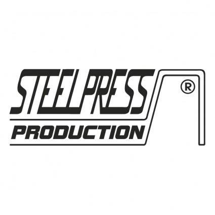 free vector Steel press production