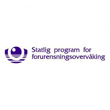 Statlig program for forurensningsovervaking