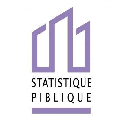 Statistique piblique