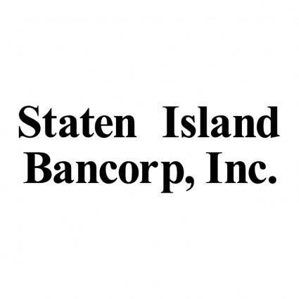 free vector Staten island bancorp