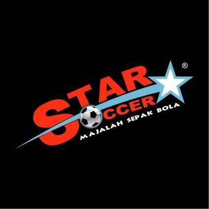 free vector Star soccer