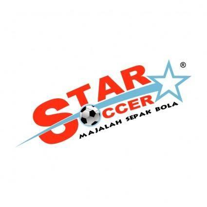 free vector Star soccer 0