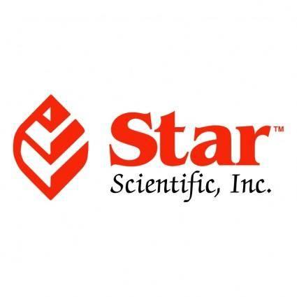 free vector Star scientific