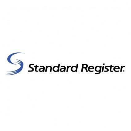 free vector Standard register