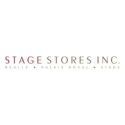 free vector Stage stores