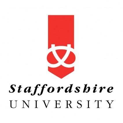 free vector Staffordshire university