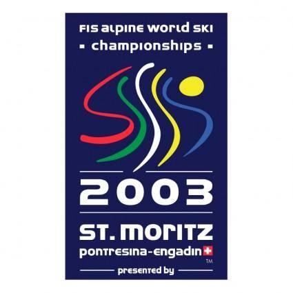 free vector St moritz 2003