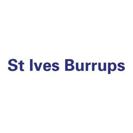 St ives burrups