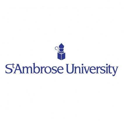 free vector St ambrose university 0