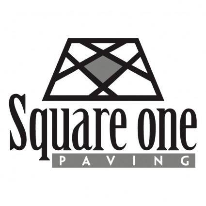 free vector Square one paving