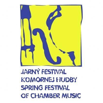 free vector Spring festival of chamber music