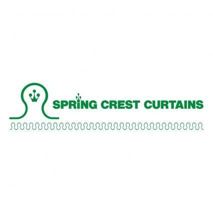Spring crest curtains