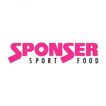 free vector Sponser sport food