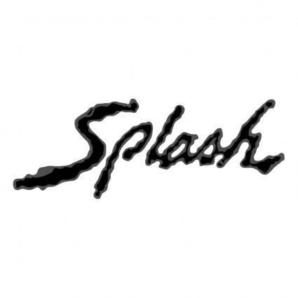 free vector Splash 2