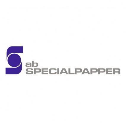 Specialpapper