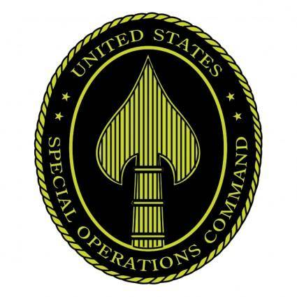 free vector Special operations command